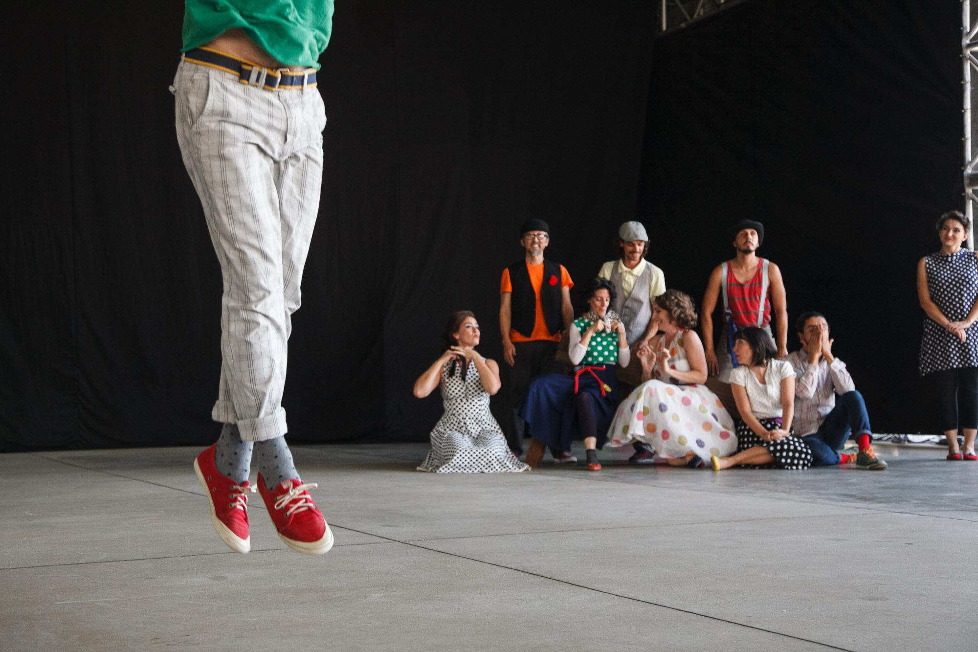 Cia Artesãos do Corpo se apresentam no 12º Visões Urbanas - Festival Internacional de Dança em Paisagens Urbanas, realizado pela Cia Artesãos do Corpo em São Paulo. (Foto: Fábio Pazzini @fabio.pazzini)